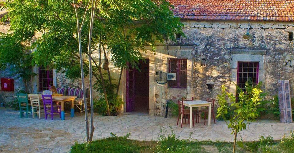 Raftis Restaurant garden